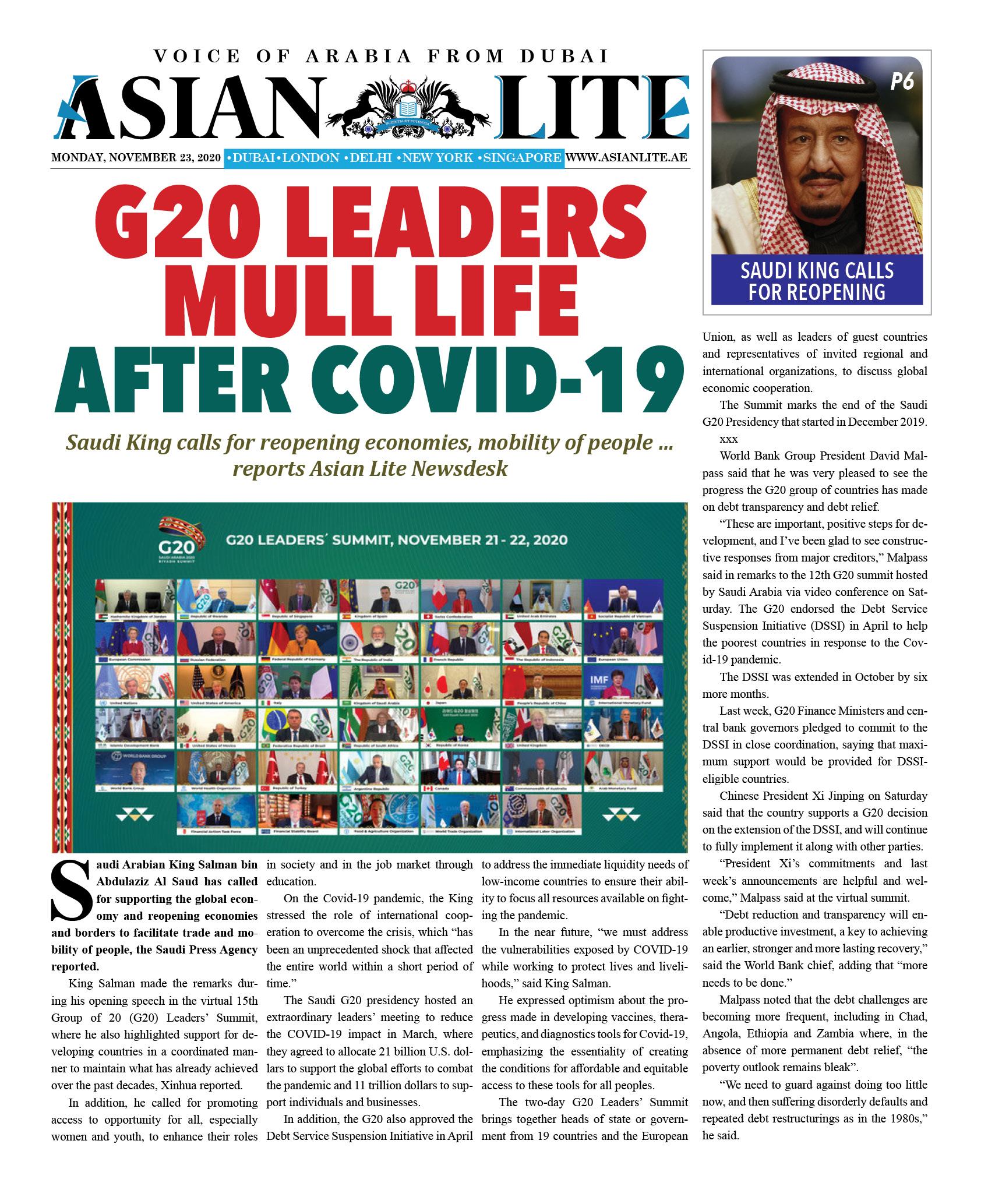 Asian Lite Dubai DD – Nov 23, 2020