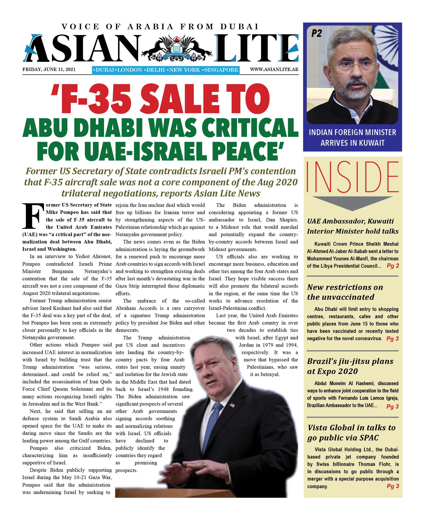 Asian Lite Dubai DD – June 11, 2021