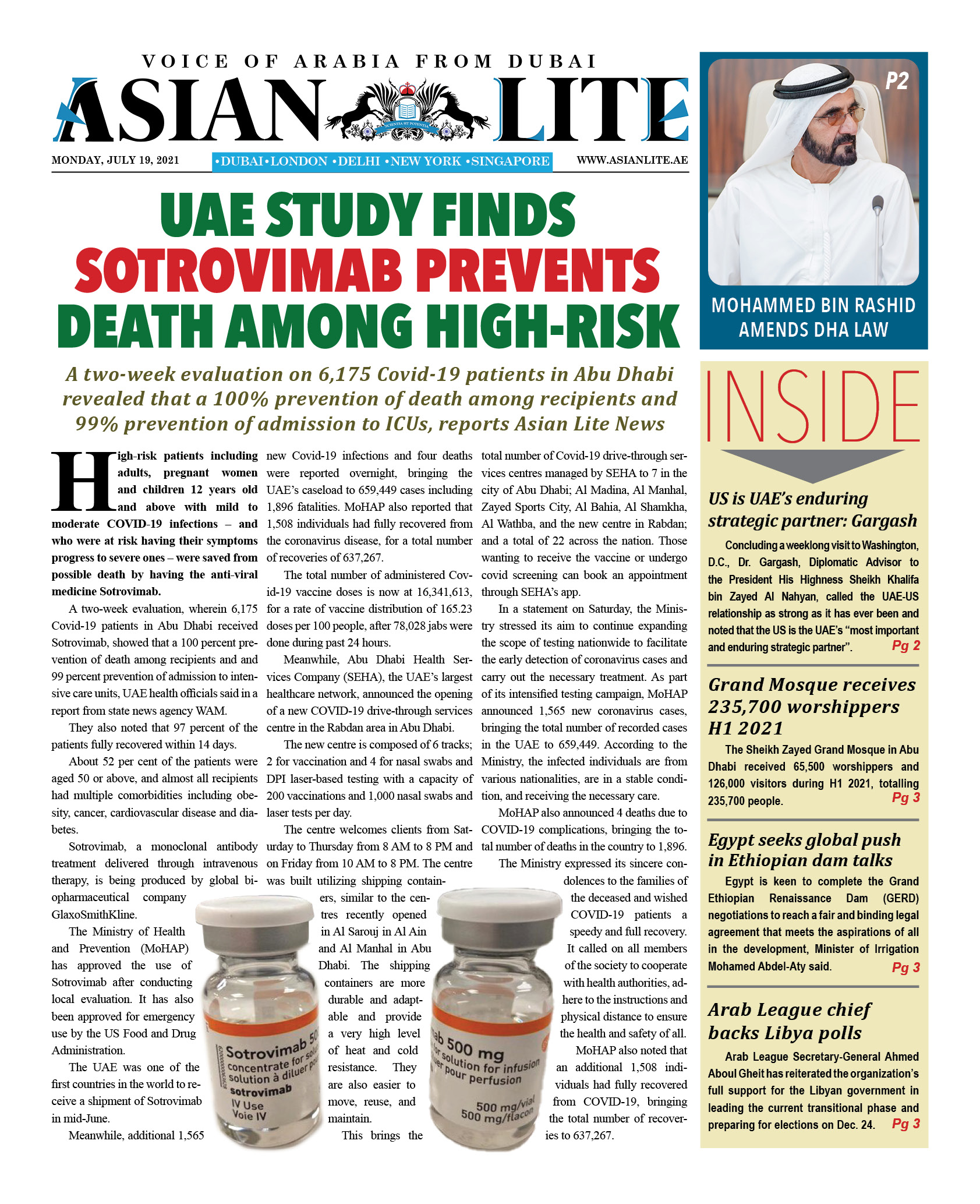 Asian Lite Dubai DD – July 19, 2021