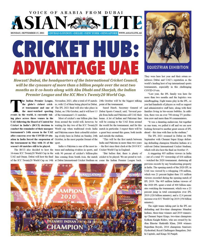 Asian Lite Dubai DD – Sep 27, 2021